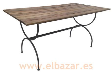 Muebles De Forja Para Jardin El Bazar - Muebles-de-forja-para-jardin